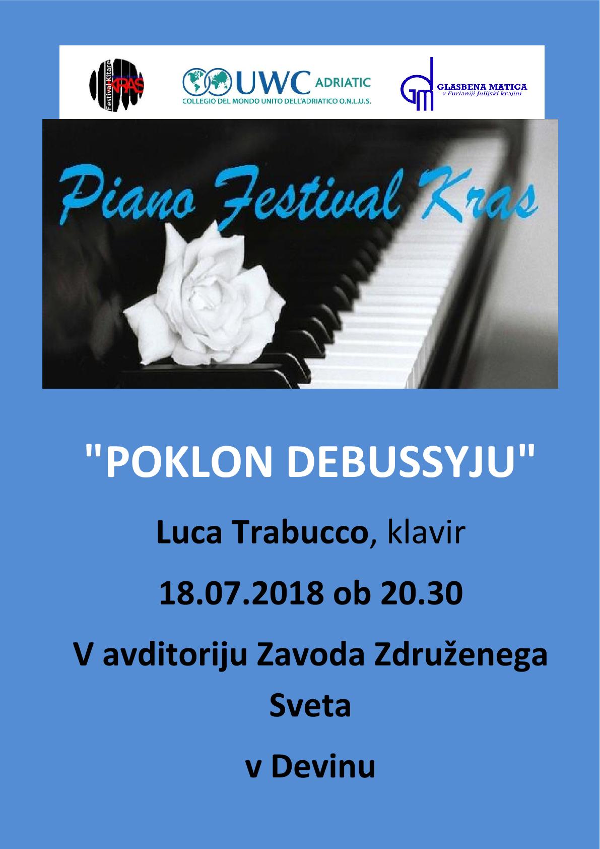 18.7.2018 ob 20.30 uri – koncert v Devinu