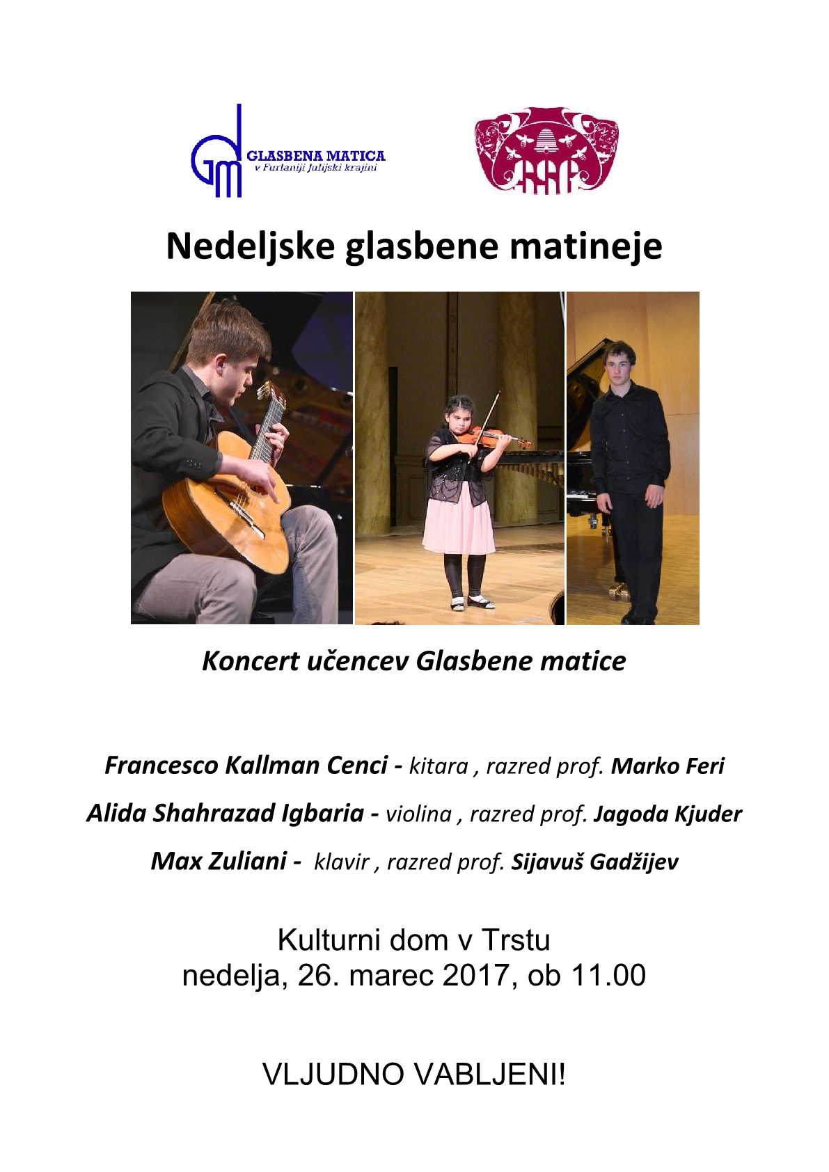 matineje koncert ucencev1